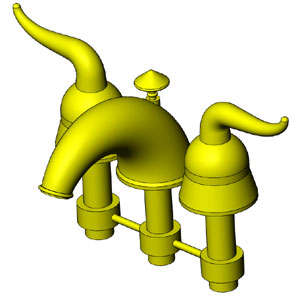 solidworks faucet