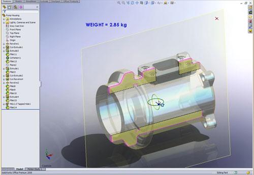 SolidWorks 2008 instant 3d