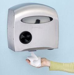 automatic toilet paper dispenser