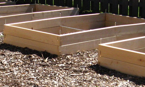 Earth Day Raised Bed Garden Designs in SolidWorks