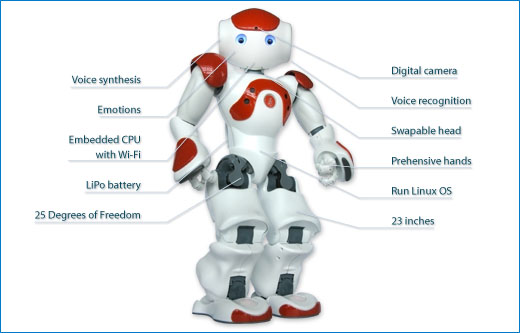 Nao Humanoid Robot Designed in SolidWorks: Farewell Human Race ...