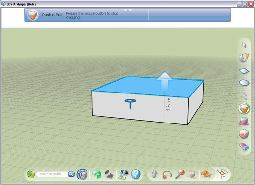comparison of google sketchup and 3dvia Shape