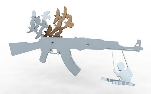 Stuart Fingerhut gunrack solidworks final rendering