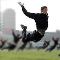 flying ninjas love 3d tactile force feedback