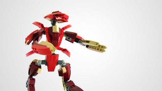 solidworks creature lego rendering vliet