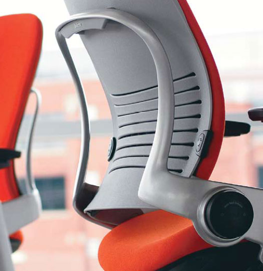 Leap Chair By Steelcase delicious design process: steelcase leap chair gets 3d, fabbing