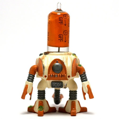 The Rotund Resin Figure by Cris Rose.