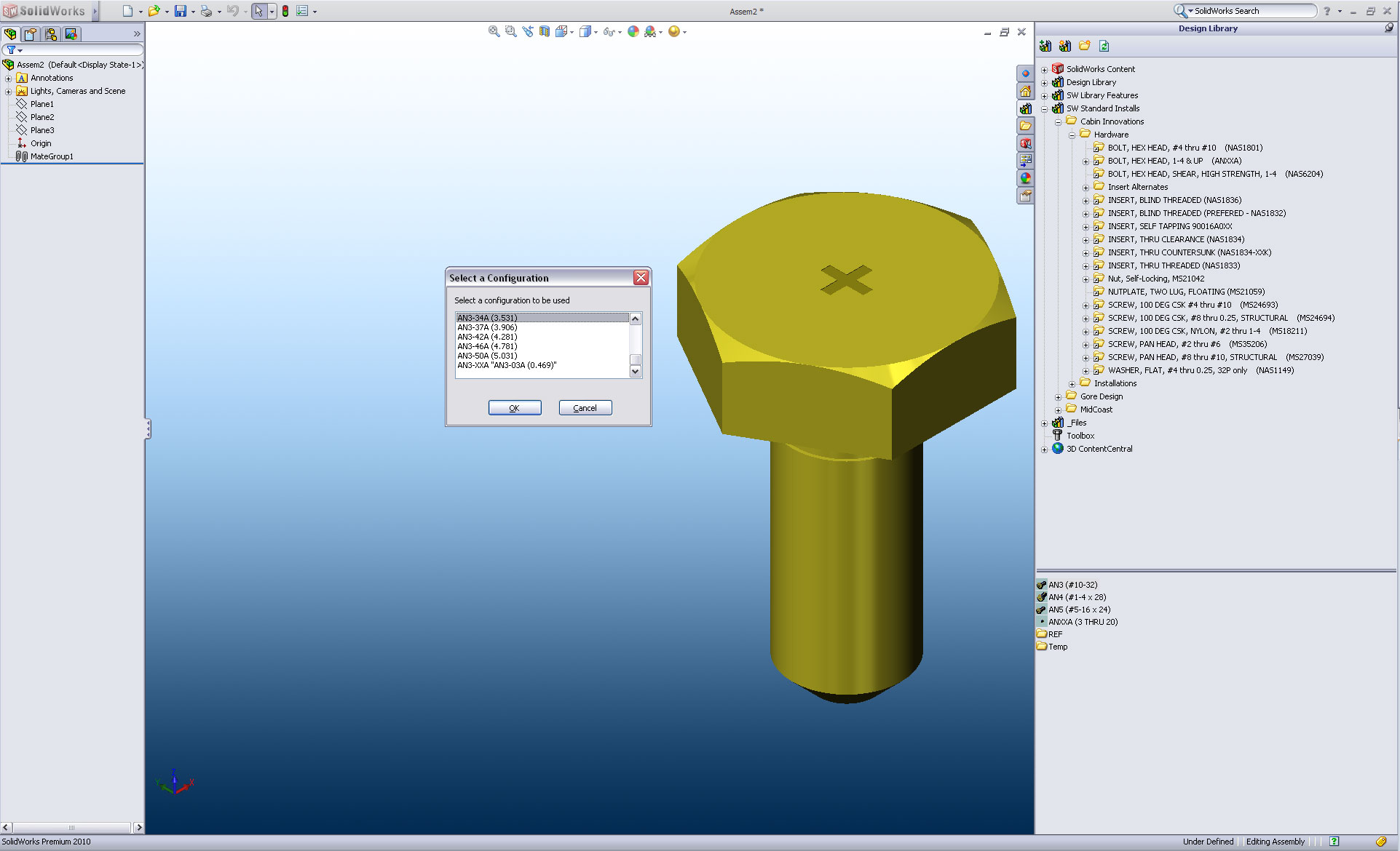 How to Egg Sack SolidWorks Part Configurations Like a