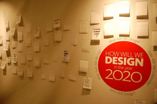 How Will You Design in 2020? Wall