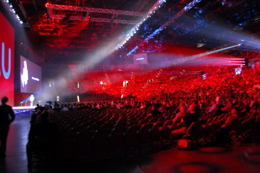 The Main Stage in the Event Center