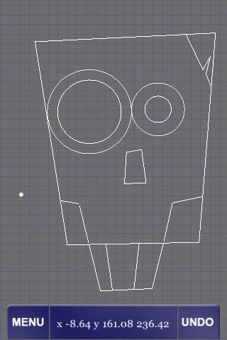 Creating a site layout, that looks oddly like a robot skull.