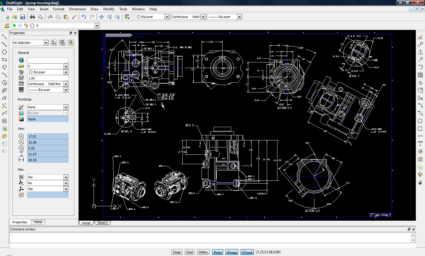autocad version