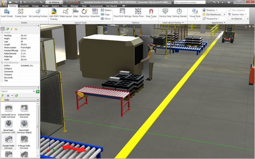 5 ways to use autodesk design suite to turn your factory for Machine shop layout software