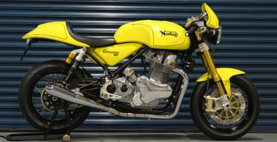 The 961 in Yellow and Black. (Image: Norton Motorcycle)