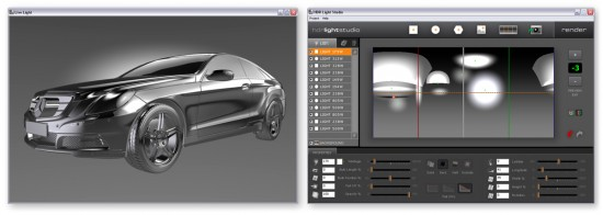 The new HDR Light Studio 2 interface. (Click to Enlarge)
