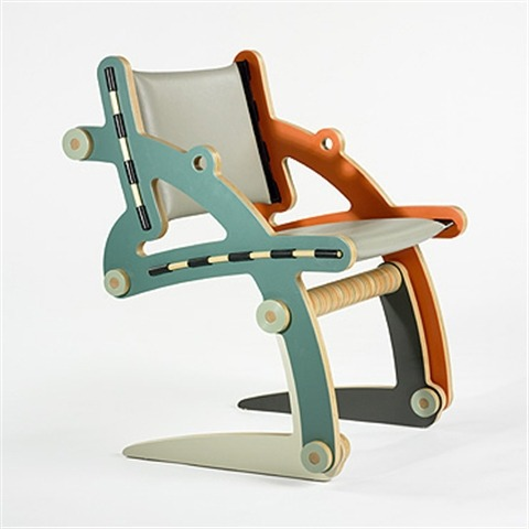 The Irenke V SQ BK chair by Kenneth Smythe