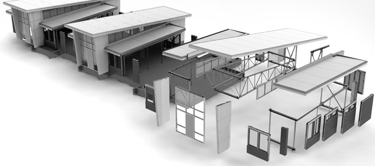 The ease of architecture in solidworks project frog for Modular building design