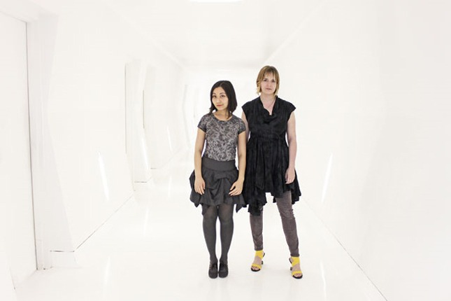 Jenna Fizel and Mary Huang of Continuum Fashion