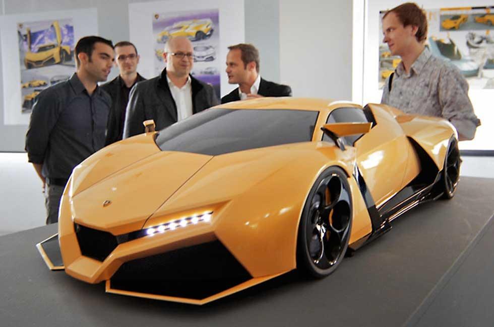 Lamborghini Cnossus Concept Car Absolutely Stunning