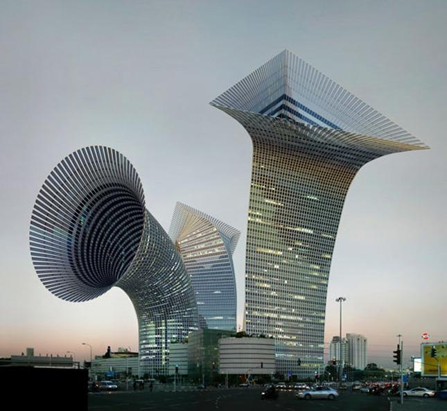 the surreal 3d architecture of víctor enrich