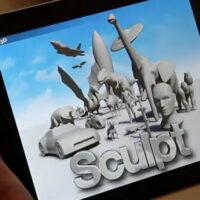 Autodesk 123D Sculpt. Free iPad App to Sculpt, Paint, Rock.