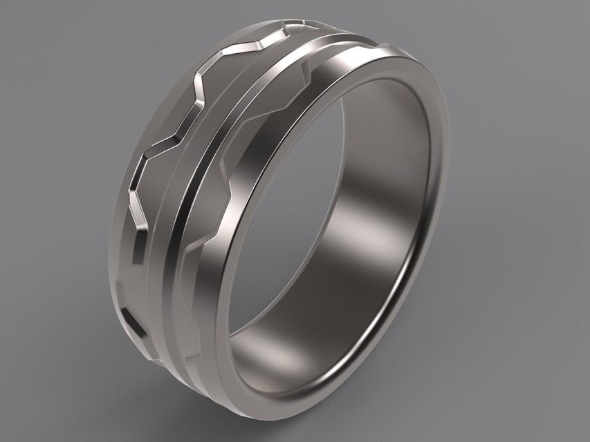 Do You Design This Mens Wedding Ring to Be Awesome? I Do ...