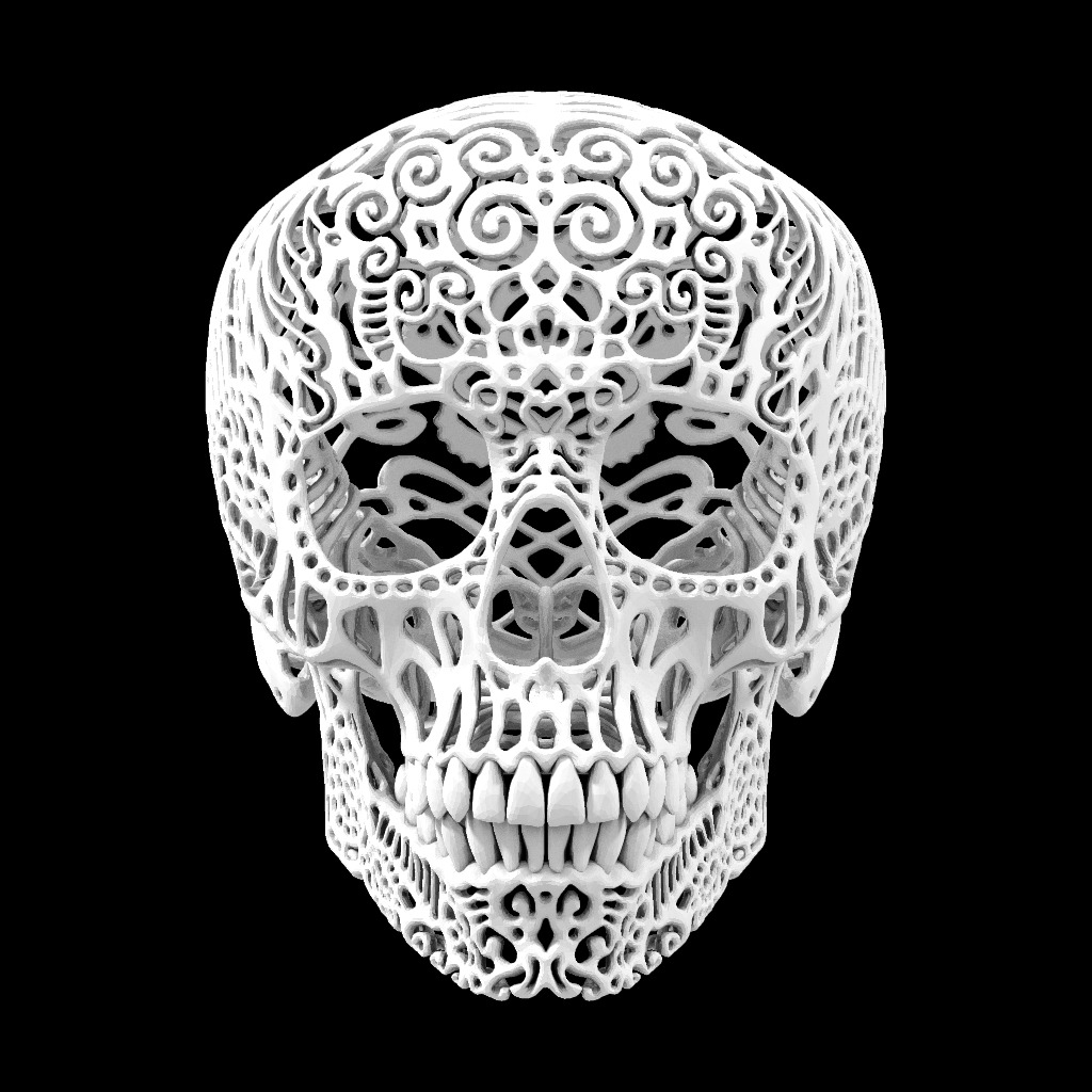 This 3D Printed Skull Will Rock You. Crania Anatomica