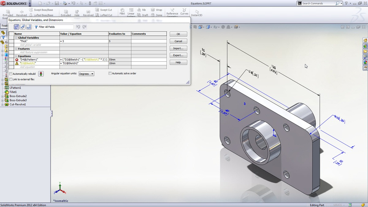 Solidworks 2012 Features And Tools To Speed The Design