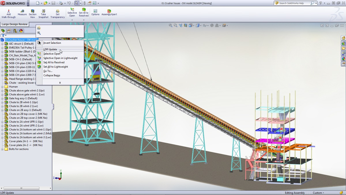 SolidWorks 2012 Features and Tools to Speed the Design Workflow