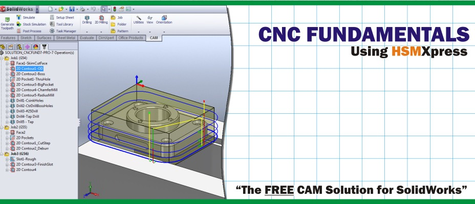 HSMXpress  First Fully-Integrated and Free SolidWorks CAM