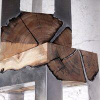 Wood, meet molten metal. I'm sure you'll get along just fine.