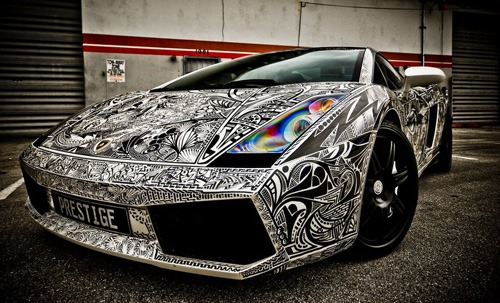 How To Look Sharp With A Sharpied Car Solidsmack Com