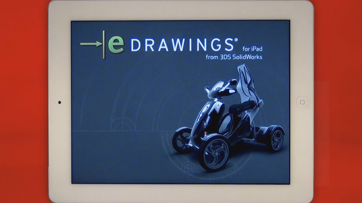 eDrawings for iPad    is Finally Here