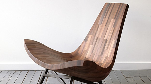 Four fabulous fine furniture designs with gorgeous grain for Wooden furniture design