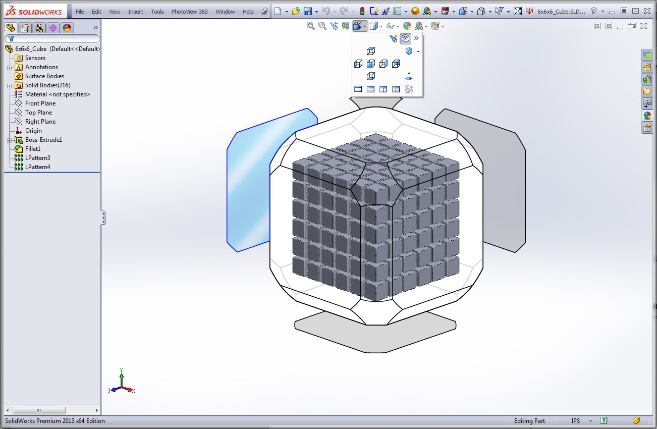 how to create tangent plane solidworks