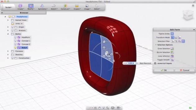 Autodesk Fusion 360 Announced  The New Face of T-Splines - SolidSmack