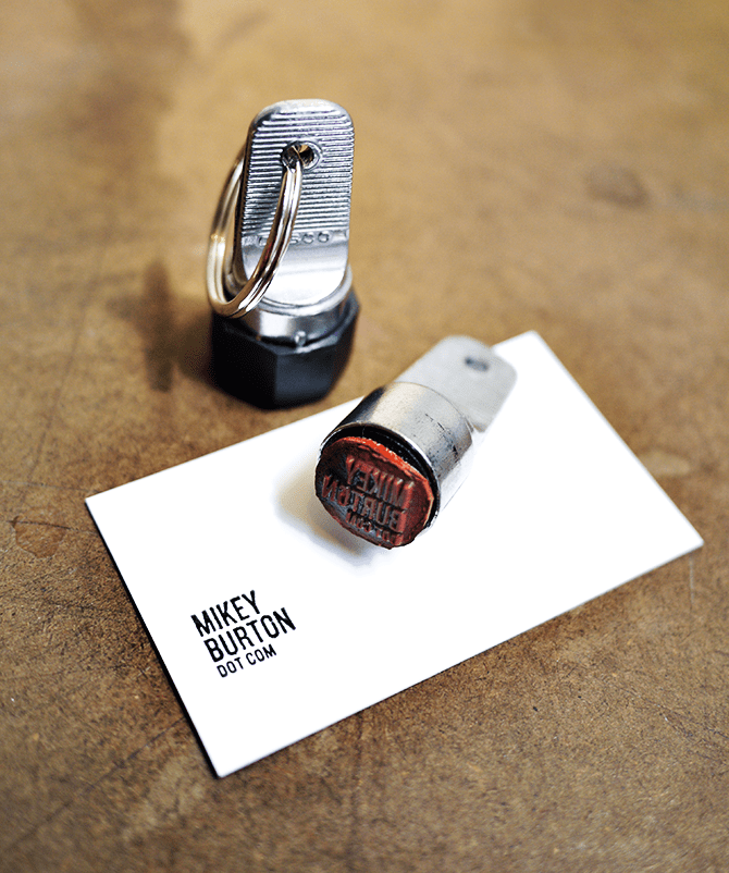 The Inspector Stamp: Make a Business Card Out of a Beer Coaster ...