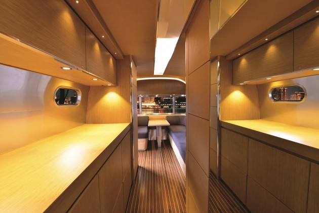The New Redesigned Airstream Interior A Yacht On Wheels