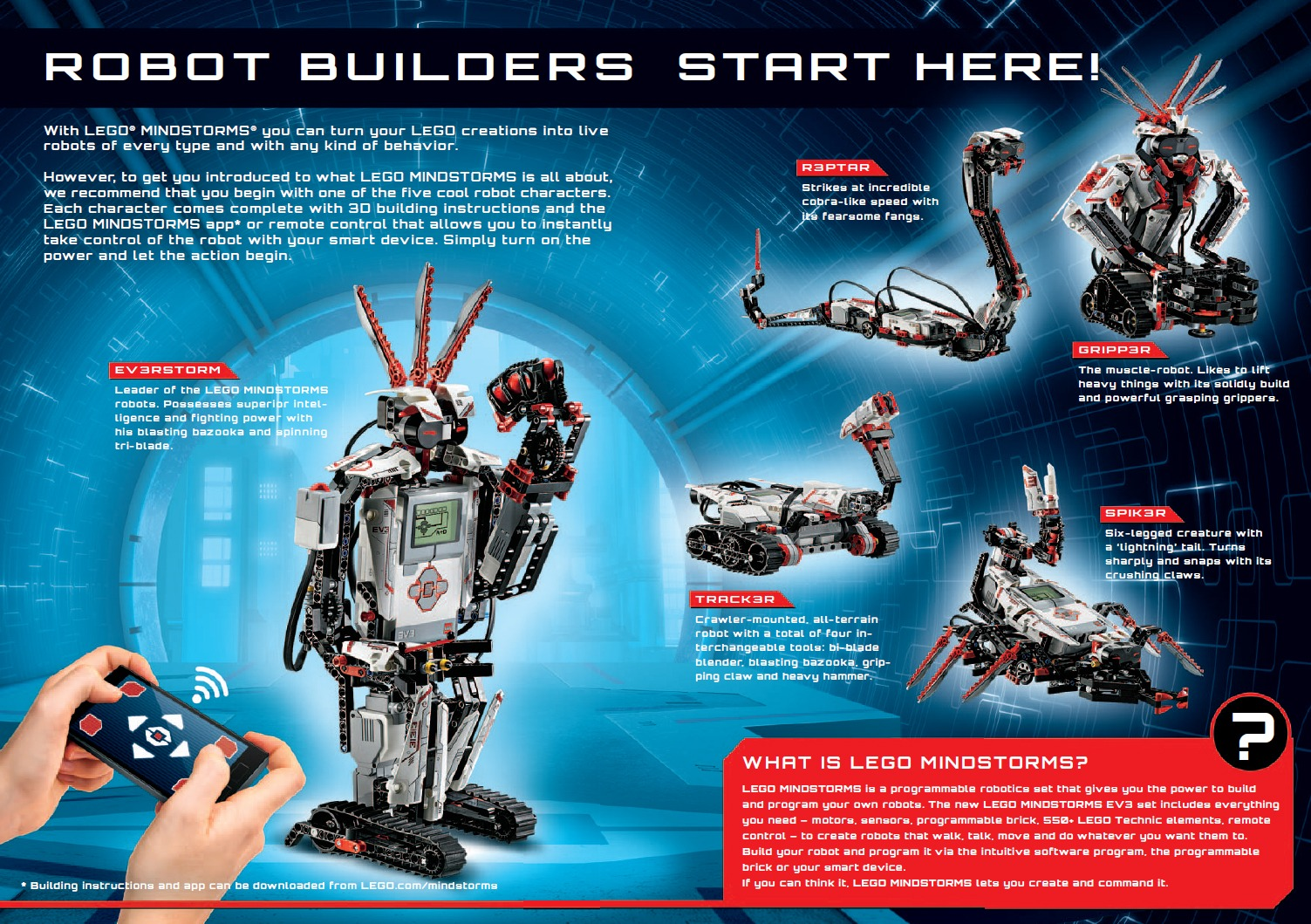 mindstorms ev3 projects instructions