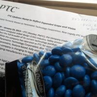 PTC Sends Out Blue M&M'S, Changes Name to PTC.