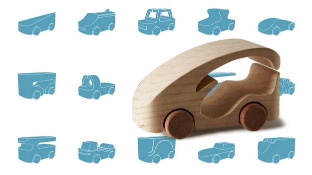 100 Wooden Toy Cars From 100 Designers (and You Can Make