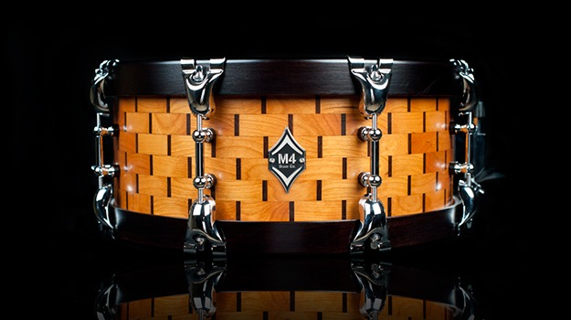 Beautiful Hand-made Drum Shell Design Made of 384 ...