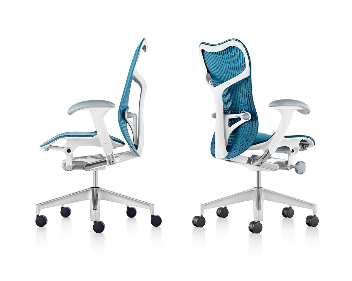Herman miller introduces mirra 2 chair 39 s sleek new design for Chair new design