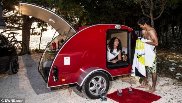 Camping in the 21st Century Mini's Camper Concepts
