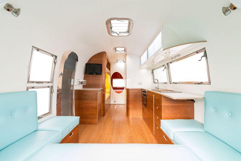 American Retro Caravans A Refresh On Vintage Airstream
