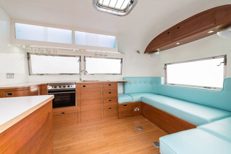 American retro caravans a refresh on vintage airstream design solidsmack Diy caravan interior design ideas