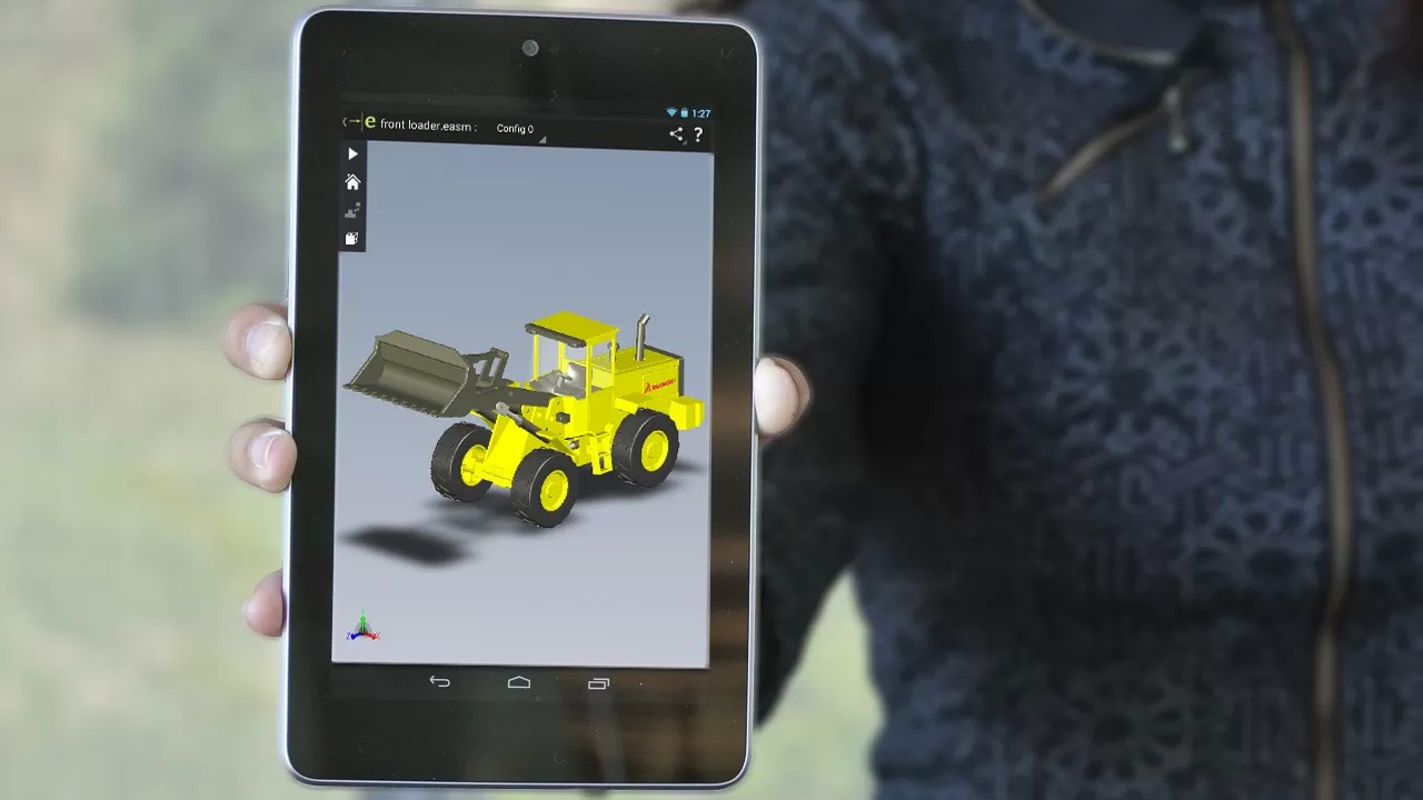 Droid Fans Rejoice  SolidWorks eDrawings for Android Now Available