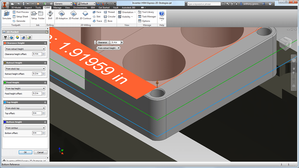 It's Official, the Free CAM Solution for Autodesk Inventor