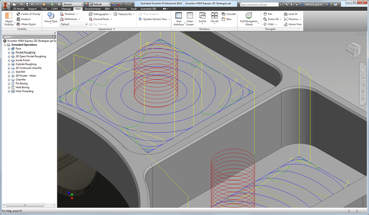 It's Official, the Free CAM Solution for Autodesk Inventor Is Here