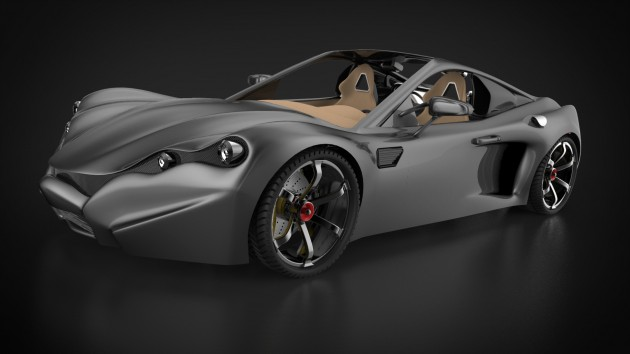 fusion360-keyshot-concept-car-complete